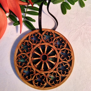 Rose Window Decoration