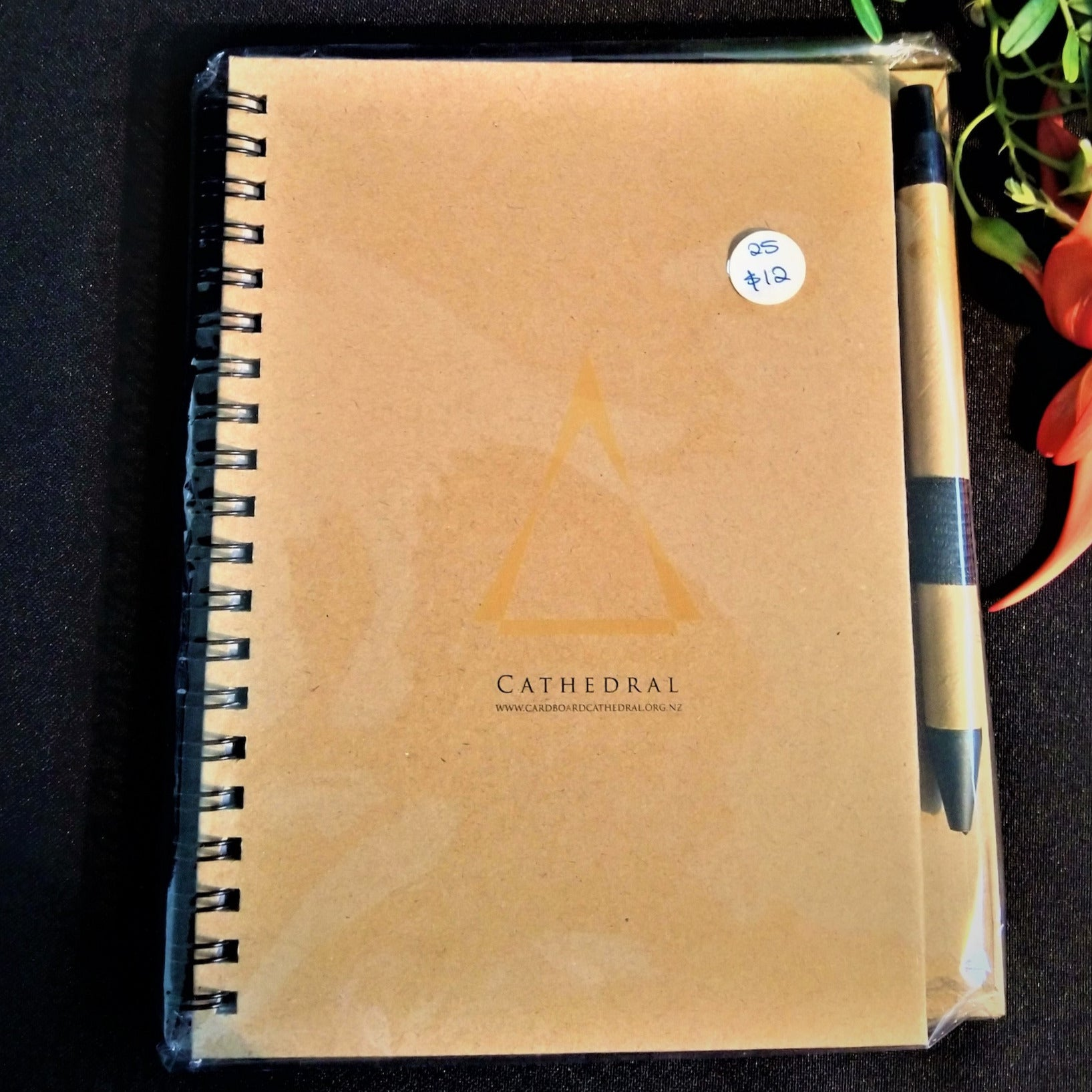 Cardboard Cathedral Notebook & Pen