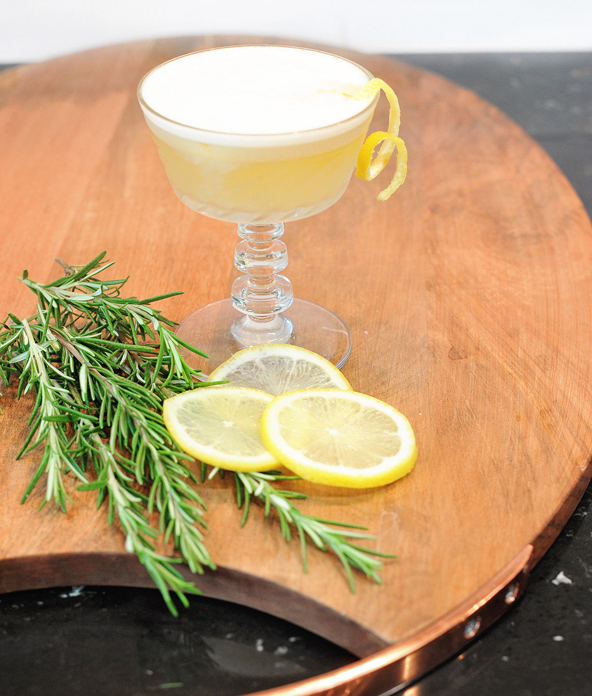 Rosemary Gin Rickey
