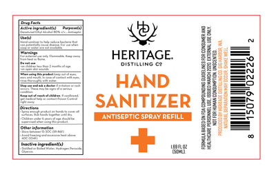 Hand Sanitizer - 50 mL Case (120/Case)