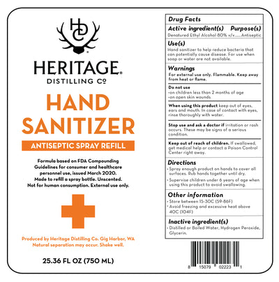 Hand Sanitizer Donation