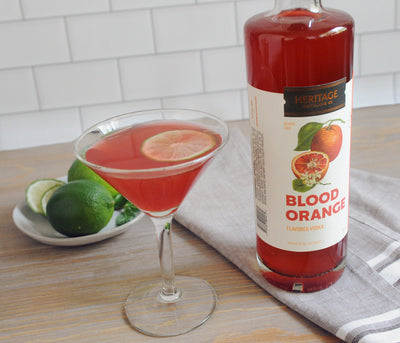 Blood Orange Flavored Vodka