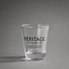 Heritage Logo Shot Glass