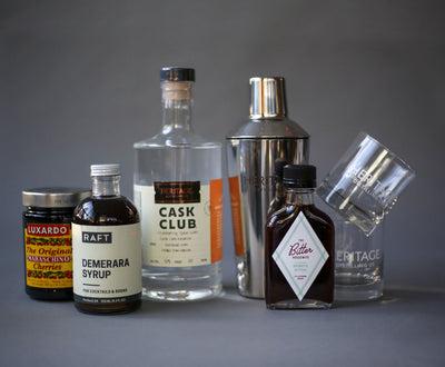 Cranberry Spiced Rum Sour Cocktail Kit (Online & Eugene Tasting Room Exclusive)