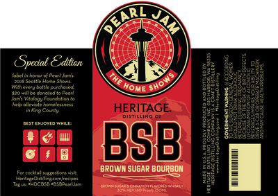 Home Shows label BSB (Pearl Jam)