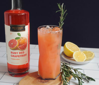 Ruby Red Grapefruit Flavored Vodka