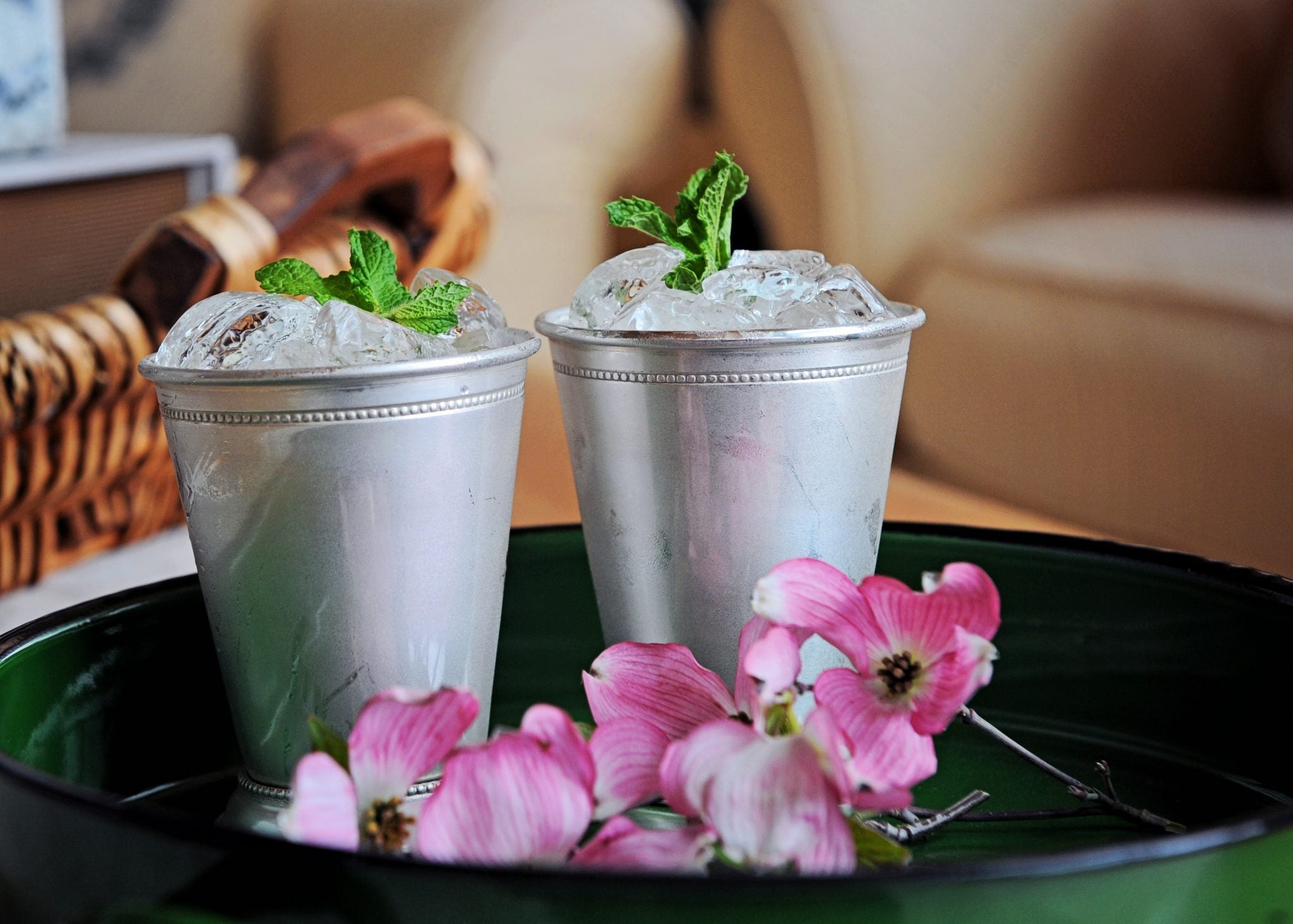 Classic Heritage Distilling Mint Julep for the Kentucky Derby