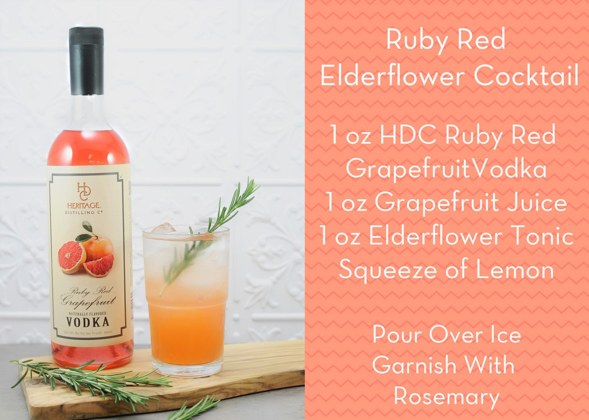 RR Elderflower Cocktail Recipe