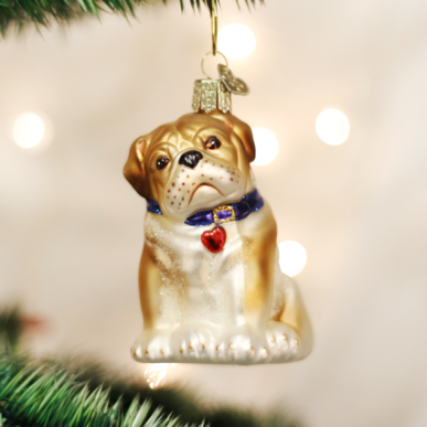Bulldog Pup Ornament