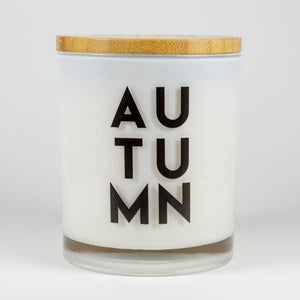Autumn Soy Candle - Apples and Maple Bourbon