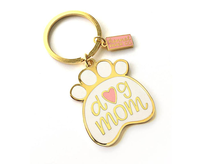Hennel Paper Co. - Dog Mom Keychain