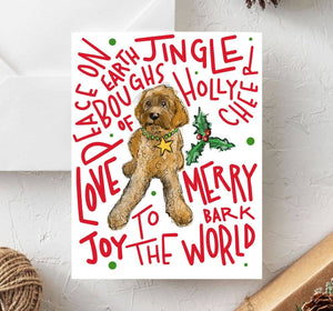 Boxed set of 10 Doodle II Holiday Cards
