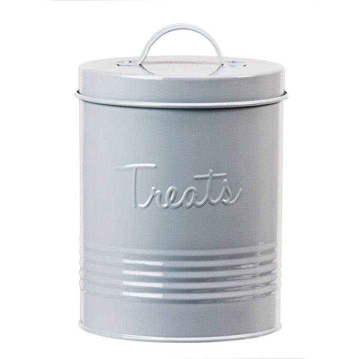 Retro Treat Canister - Grey