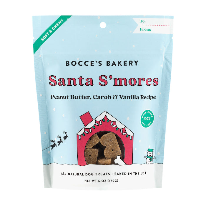 Santa S'mores Soft & Chewy Treats 6 oz