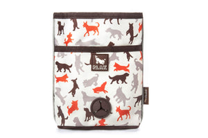 P.L.A.Y. Pet Lifestyle and You - Scout & About Deluxe Training Pouch (Vanilla)