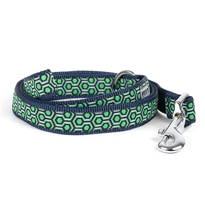 Navy/Green Hexagon Lead