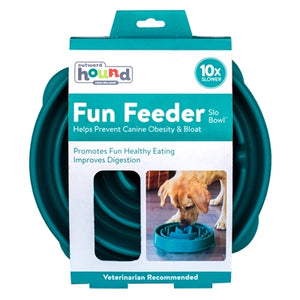 Fun Feeder Slo-Bowl - Teal