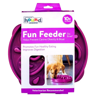 Fun Feeder Slo-Bowl - Purple