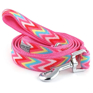 Static Chevron Pink Lead