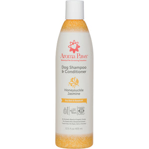 Dog Shampoo and Conditioner 13.5 oz Honeysuckle Jasmine