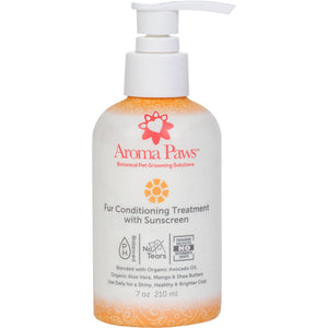 Fur Conditioning Treatment with Sunscreen