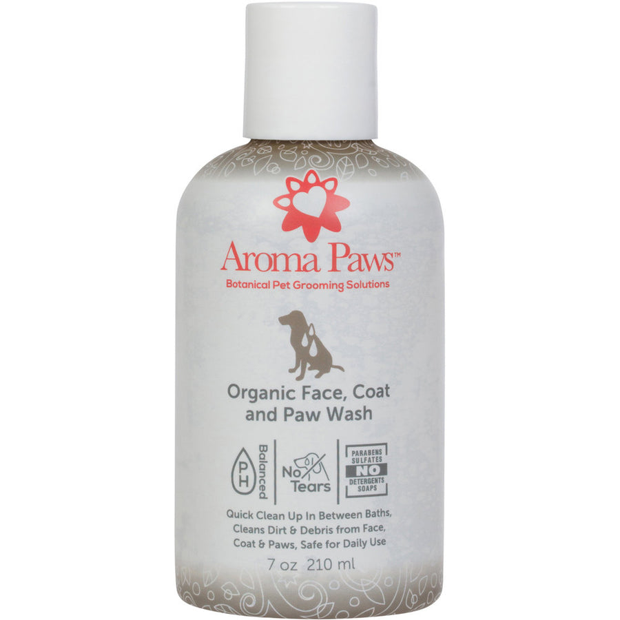 Organic Face, Coat & Paw Wash 7 oz