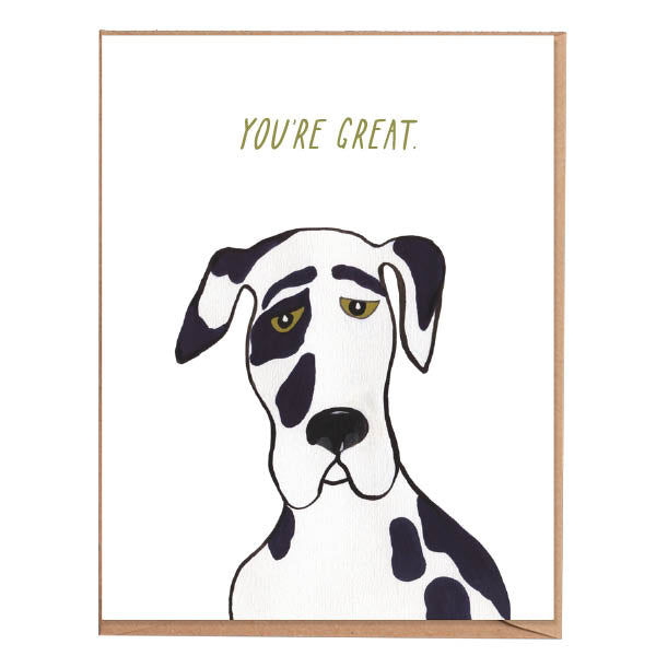 Fawn Paper Co - You're Great Card