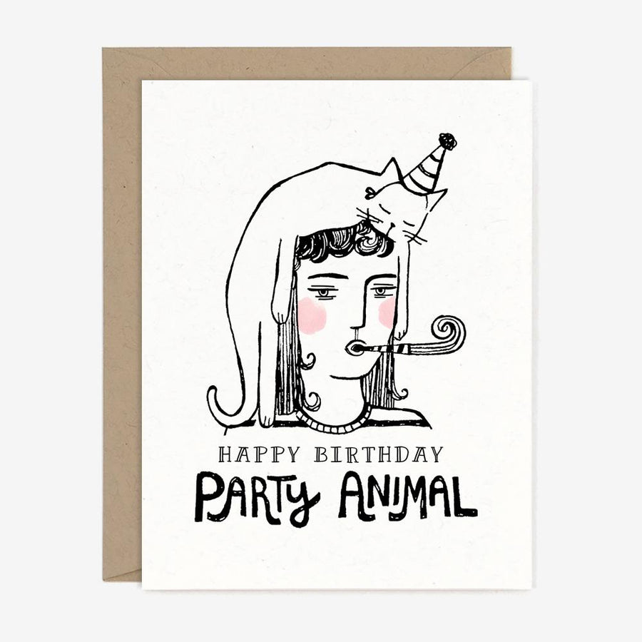 Paper Pony Co. - Party Animal Birthday Card