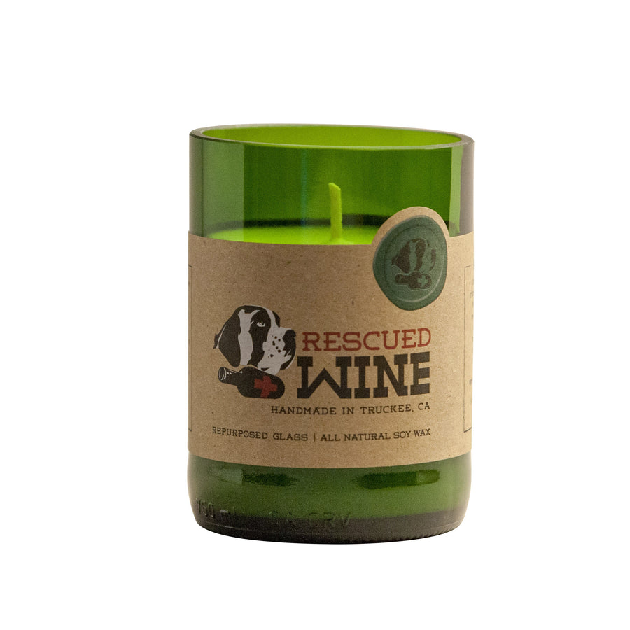 Rescued Wine - Pinot Noir Soy Candle
