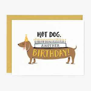Paper Pony Co. - Hot Dog Another Birthday!