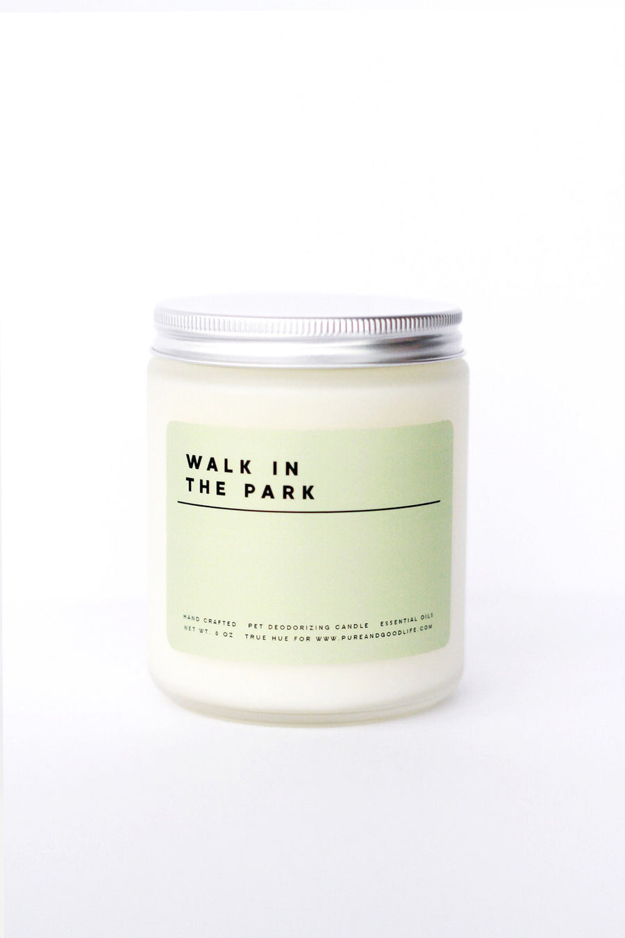 Pure + Good - Walk In The Park: Lemongrass + Peppermint 8 oz Soy Wax Candle