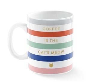 Coffee is the Cat's Meow Mug