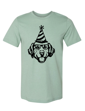 Birthday Golden Retriever T-Shirt