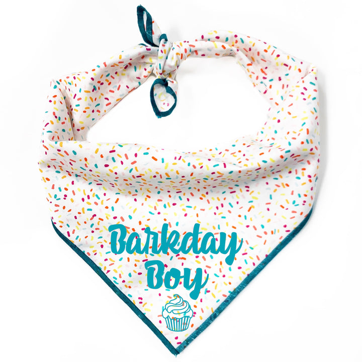 Barkday Boy Dog Bandana