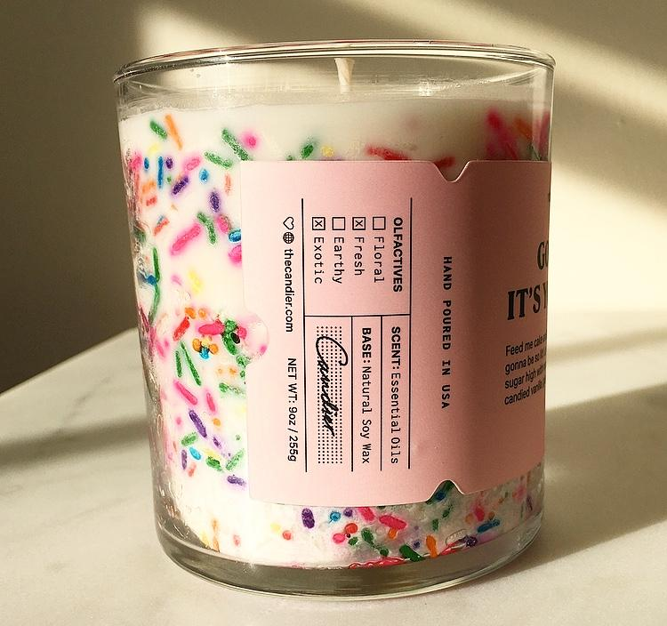 BIRTHDAY CAKE CANDLE