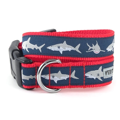 Jaws Navy Blue Collar