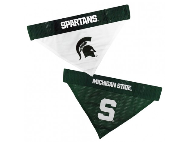 Michigan State Spartans Mesh Reversible Collar Bandana