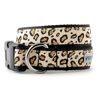 Cheetah Tan Dog Collar