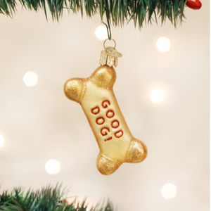 Dog Biscuit Ornament