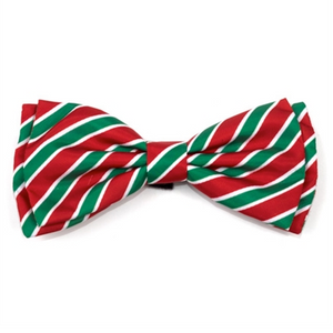 Holiday Stripe Bow Tie