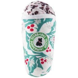 Holly Leaves Puppermint Mocha Cup