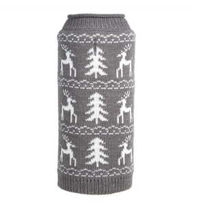 Woodlands Reindeer Roll Neck Sweater