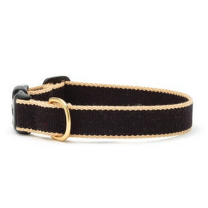 Green Market Black and Tan Dog Collar