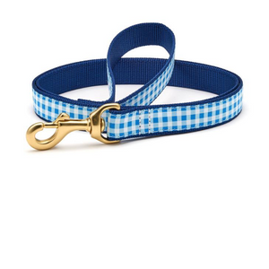 Blue Gingham Lead