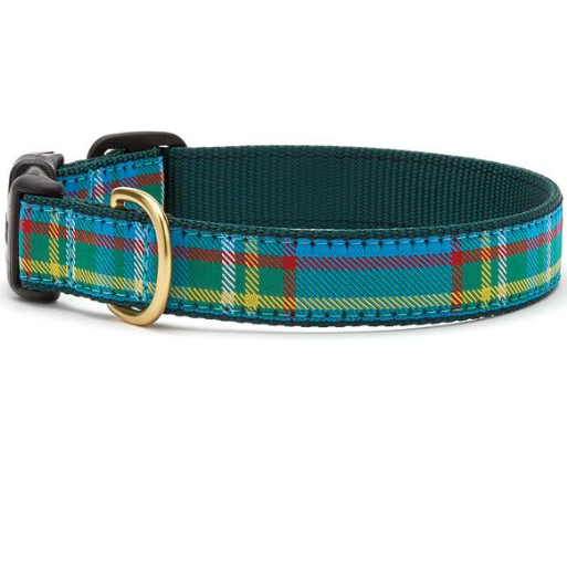 Kendall Plaid Dog Collar