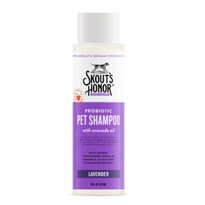 Skout's Honor Probiotic Shampoo Plus Conditioner Lavender