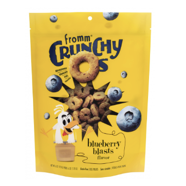 Fromm Crunchy O's - Blueberry Blasts