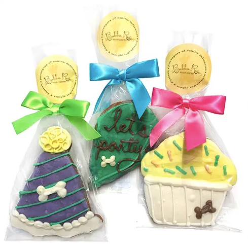 Individually Wrapped Birthday Cookies