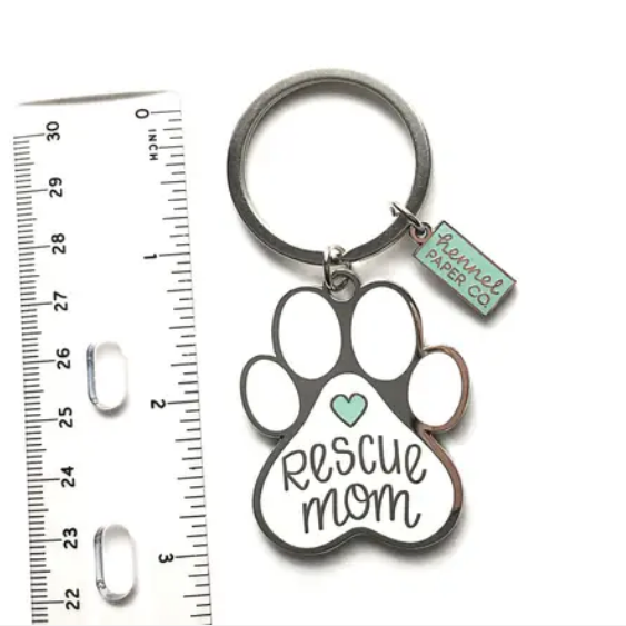Rescue Mom Keychain