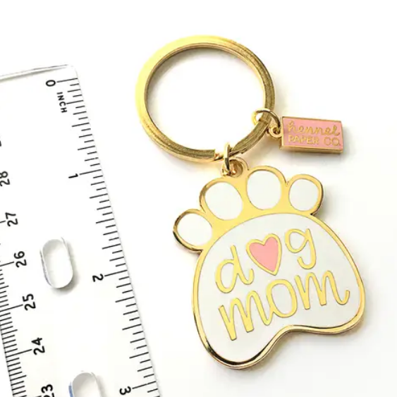 Dog Mom Keychain